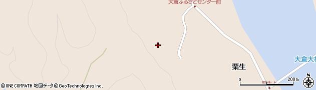 宮城県仙台市青葉区大倉(治郎兵衛)周辺の地図