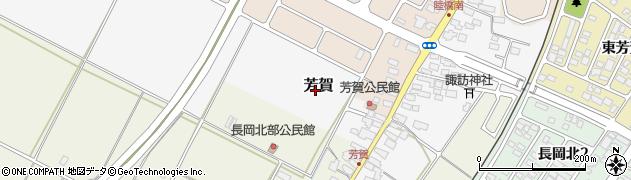 山形県天童市芳賀周辺の地図