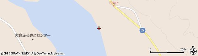 宮城県仙台市青葉区大倉(湯湧)周辺の地図