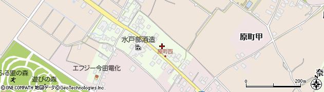 山形県天童市原町乙周辺の地図