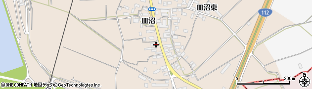 山形県寒河江市島543周辺の地図