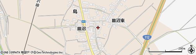 山形県寒河江市島717周辺の地図