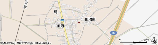 山形県寒河江市島709周辺の地図
