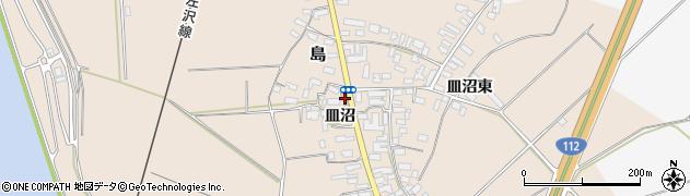 山形県寒河江市島521周辺の地図