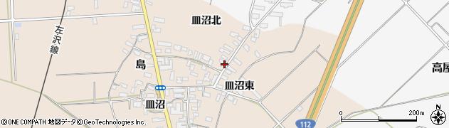 山形県寒河江市島701周辺の地図