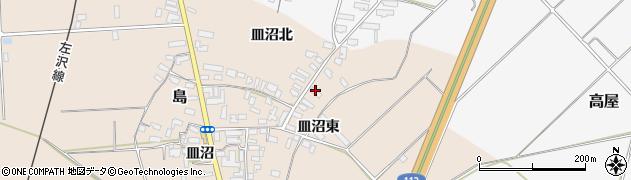 山形県寒河江市島841周辺の地図