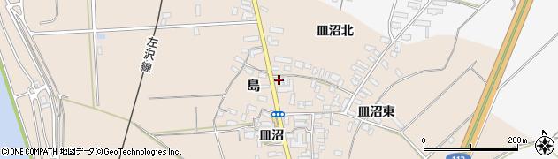 山形県寒河江市島680周辺の地図