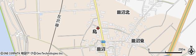 山形県寒河江市島503周辺の地図