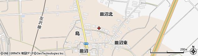 山形県寒河江市島860周辺の地図
