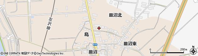 山形県寒河江市島682周辺の地図