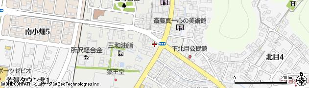 山形県天童市一日町周辺の地図