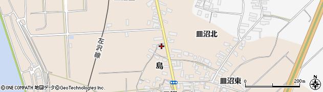山形県寒河江市島497周辺の地図