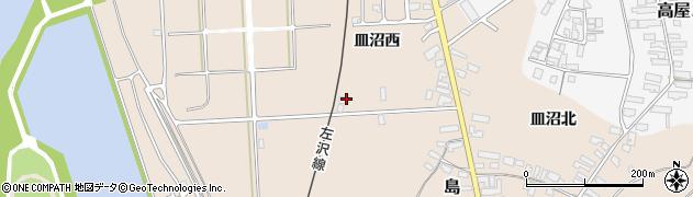 山形県寒河江市島836周辺の地図