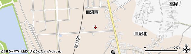 山形県寒河江市島831周辺の地図