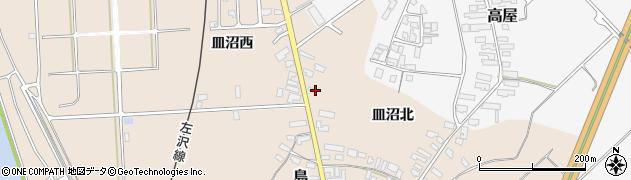 山形県寒河江市島687周辺の地図