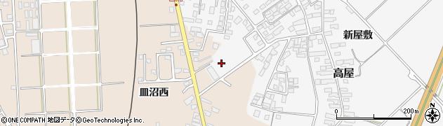 山形県寒河江市高屋西浦484周辺の地図