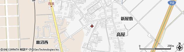 山形県寒河江市高屋西浦2876周辺の地図