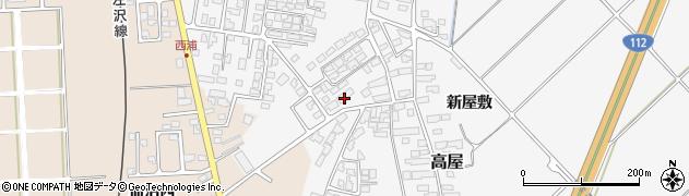 山形県寒河江市高屋西浦504周辺の地図