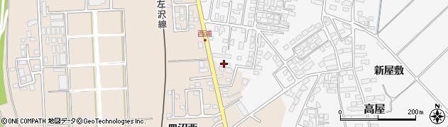 山形県寒河江市高屋西浦465周辺の地図