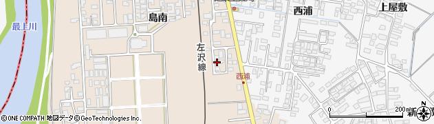 山形県寒河江市島783周辺の地図