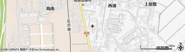 山形県寒河江市高屋西浦435周辺の地図
