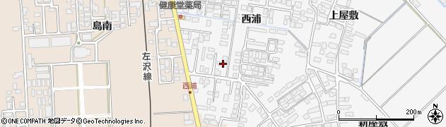 山形県寒河江市高屋西浦439周辺の地図