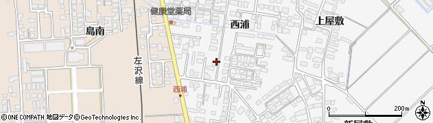 山形県寒河江市高屋西浦441周辺の地図