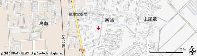 山形県寒河江市高屋西浦420周辺の地図