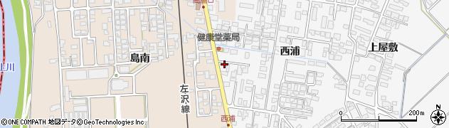 山形県寒河江市高屋西浦428周辺の地図
