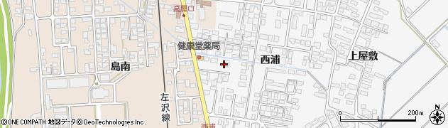 山形県寒河江市高屋西浦425周辺の地図