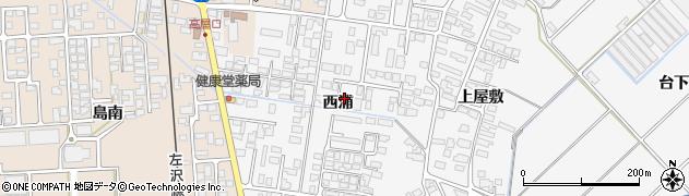 山形県寒河江市高屋西浦399周辺の地図
