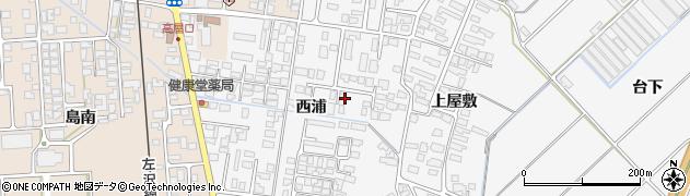 山形県寒河江市高屋西浦402周辺の地図
