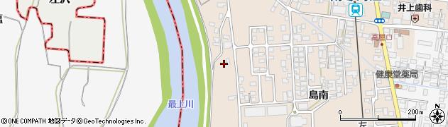山形県寒河江市島349周辺の地図