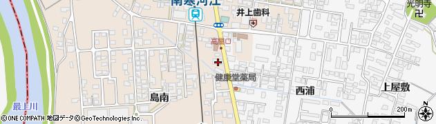 山形県寒河江市島246周辺の地図