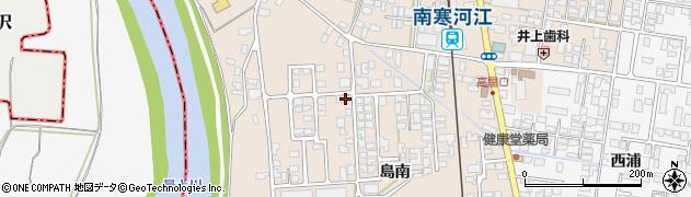山形県寒河江市島326周辺の地図