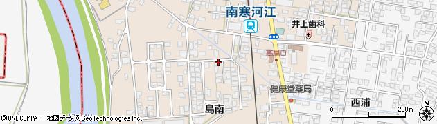 山形県寒河江市島320周辺の地図