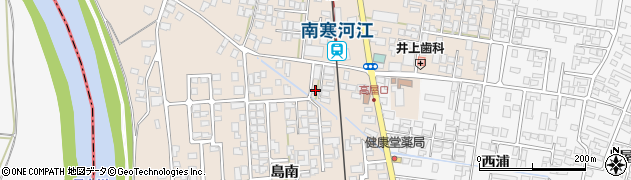 山形県寒河江市島50-1周辺の地図