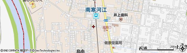 山形県寒河江市島島東47周辺の地図