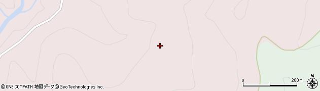 山形県西村山郡大江町柳川向山周辺の地図