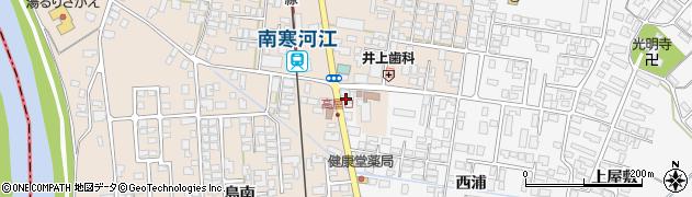 山形県寒河江市高屋西浦176周辺の地図