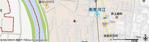 山形県寒河江市島302周辺の地図