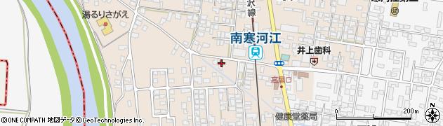 山形県寒河江市島56周辺の地図