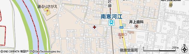 山形県寒河江市島57周辺の地図