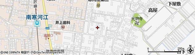 山形県寒河江市高屋西浦54周辺の地図