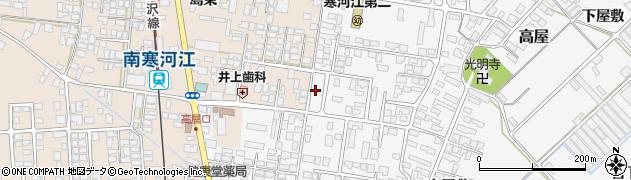 山形県寒河江市高屋西浦63周辺の地図