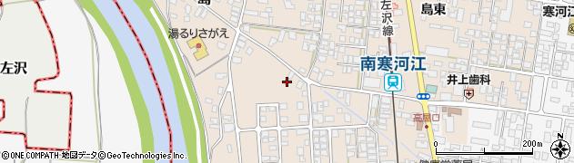山形県寒河江市島271周辺の地図