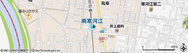 山形県寒河江市島島東248周辺の地図