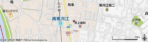 山形県寒河江市島230周辺の地図