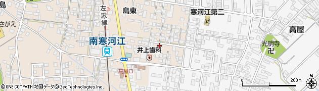 山形県寒河江市島240周辺の地図