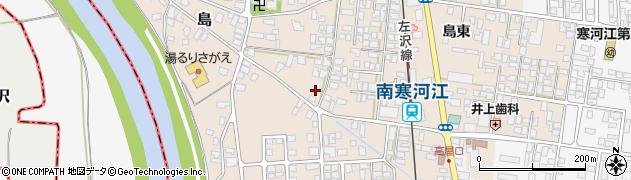山形県寒河江市島282周辺の地図